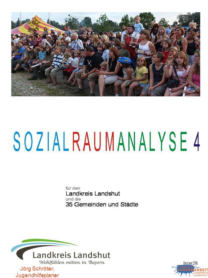 Jörg Schröter, Jugendhilfeplaner Zusammenfassung Für den Landkreis Landshut eine, im Vergleich zu Bayern, in der Summe der beiden Teilindizes insgesamt günstigere Situation konstatieren.