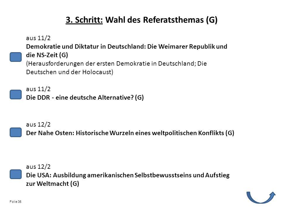 aus 11/2 Demokratie und Diktatur in Deutschland: Die Weimarer Republik und die NS-Zeit (G) (Herausforderungen der ersten Demokratie in Deutschland; Di