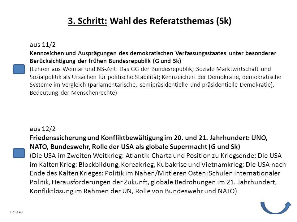aus 11/2 Kennzeichen und Ausprägungen des demokratischen Verfassungsstaates unter besonderer Berücksichtigung der frühen Bundesrepublik (G und Sk) (Le