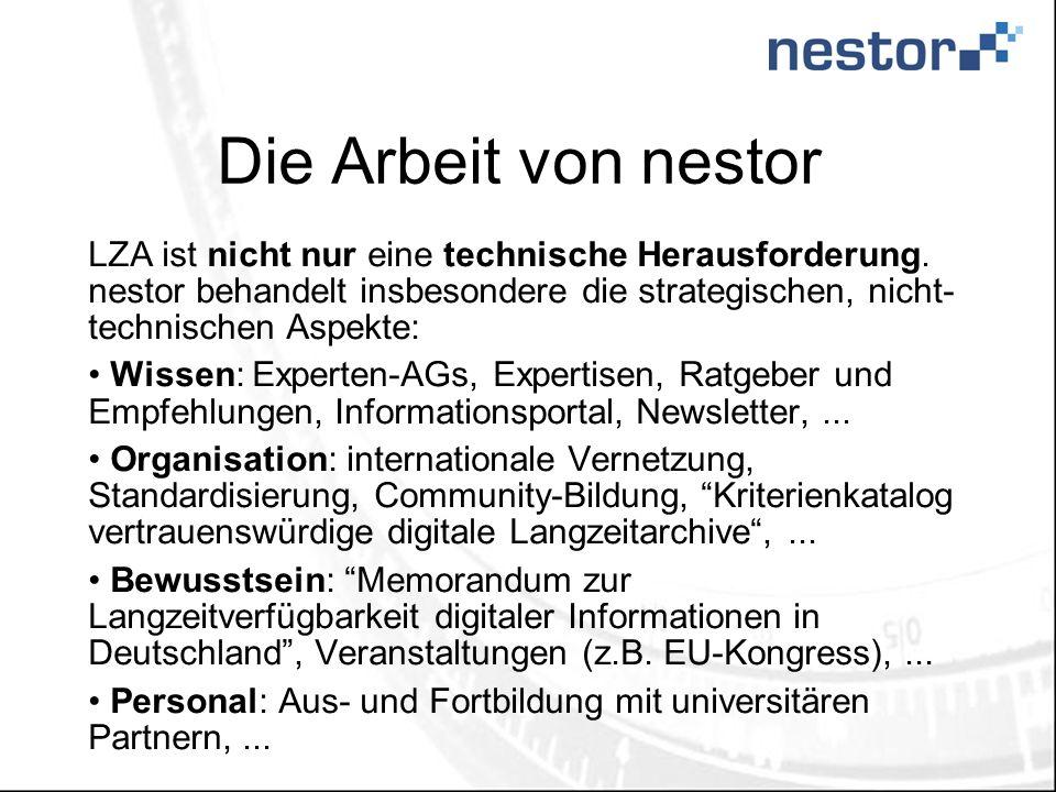 Die Arbeit von nestor LZA ist nicht nur eine technische Herausforderung.