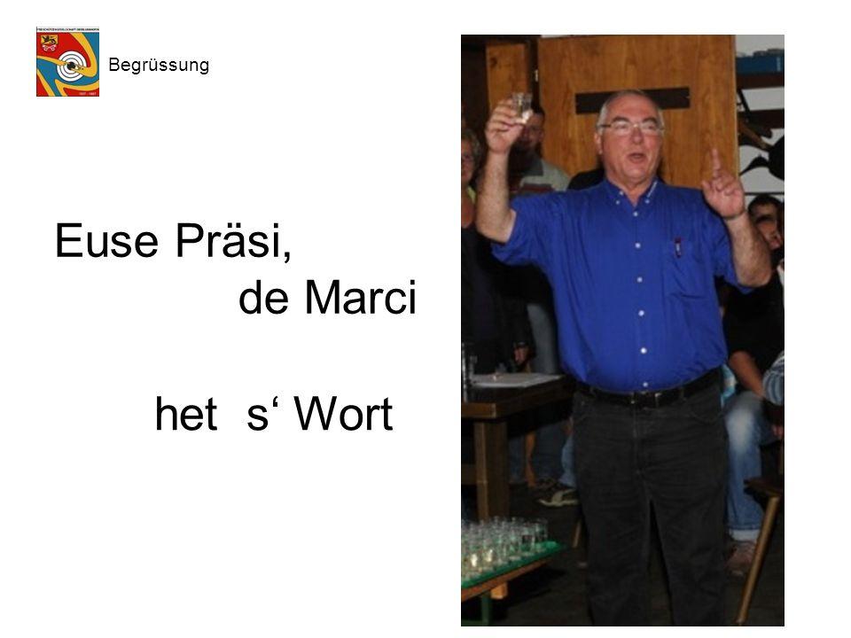 Chlausschiessen Chlaus + Differenzler Schiessen 24.11.2012 13.00 Uhr Anmeldung: 12.00 – 12.30 Uhr Ort: Schützenstube RSAL