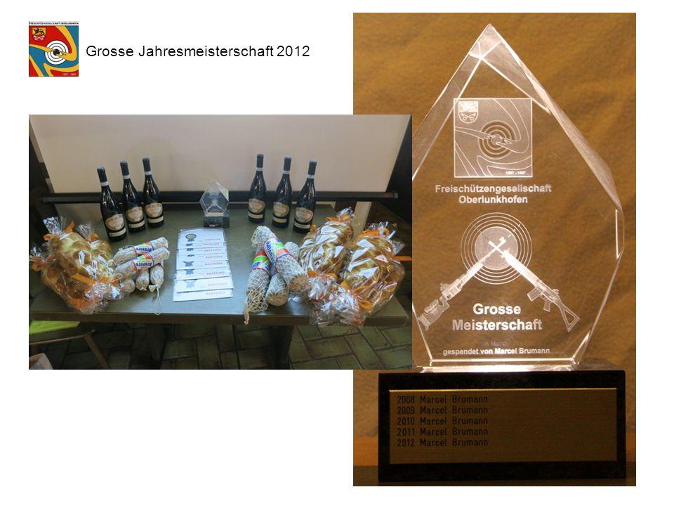 Grosse Jahresmeisterschaft 2012