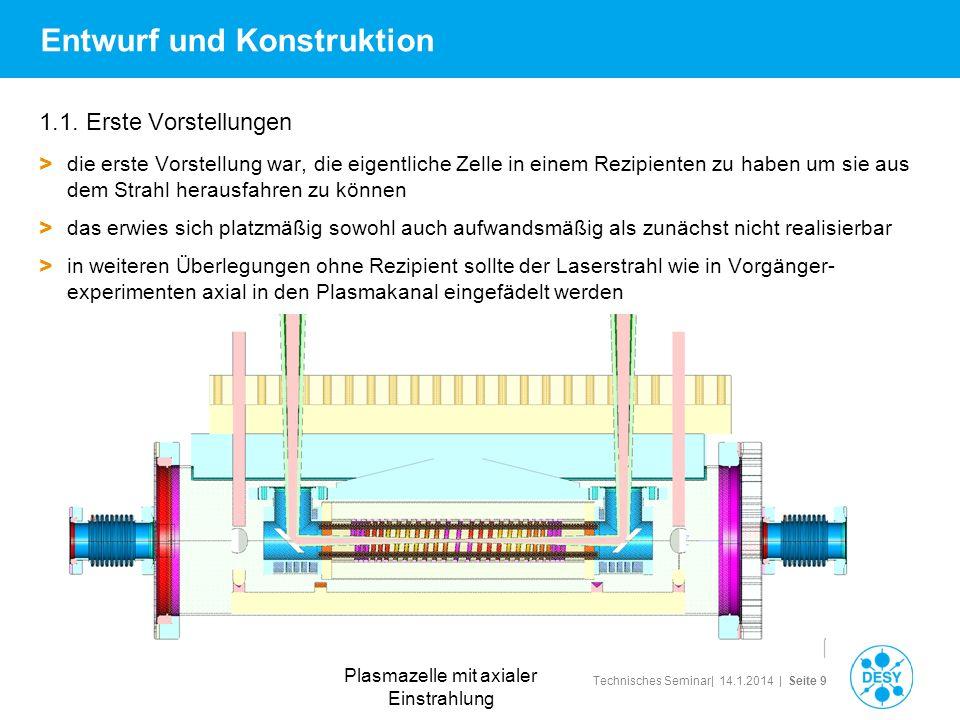 Technisches Seminar| 14.1.2014 | Seite 9 Entwurf und Konstruktion 1.1. Erste Vorstellungen > die erste Vorstellung war, die eigentliche Zelle in einem