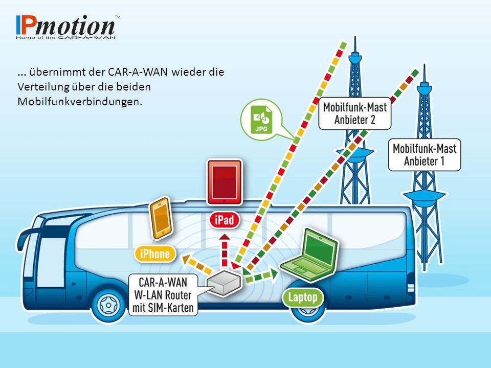 Bei VPN-Verbindungen wird der Datenverkehr eines Endgerätes jeweils exklusiv über eine Verbindung gelenkt.