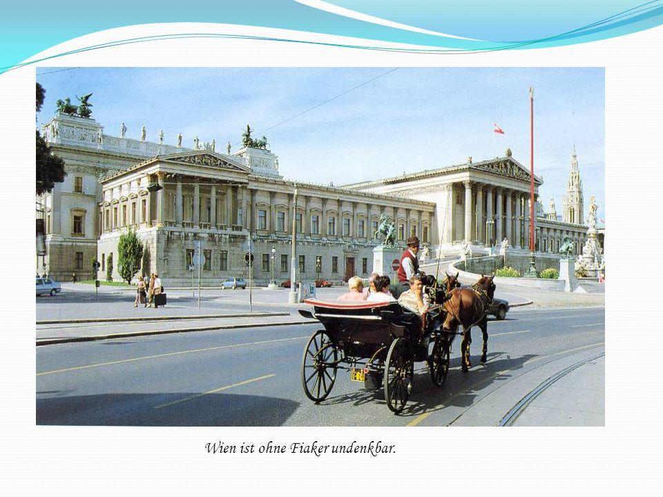 Wien ist ohne Fiaker undenkbar.