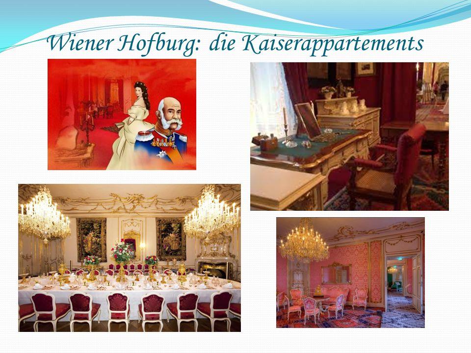 Wiener Hofburg: die Kaiserappartements