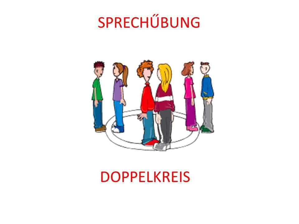 SPRECHŰBUNG DOPPELKREIS