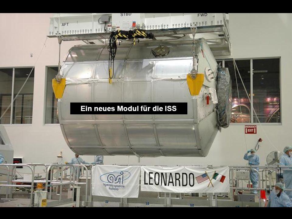 Fracht für die Raumstation ISS