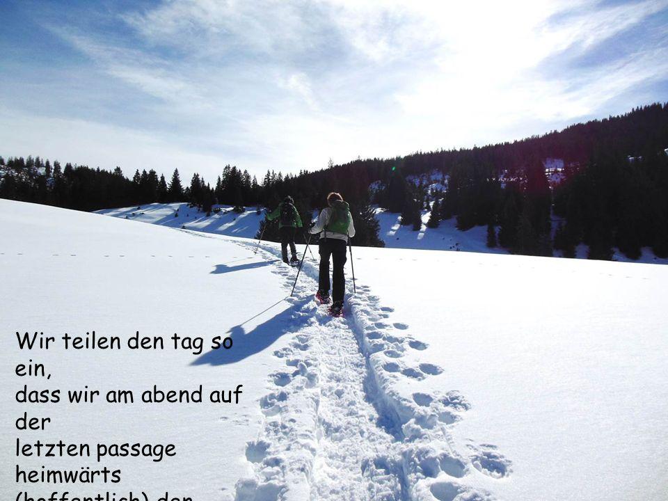 Manchmal wählen wir unseren eigenen Trail...