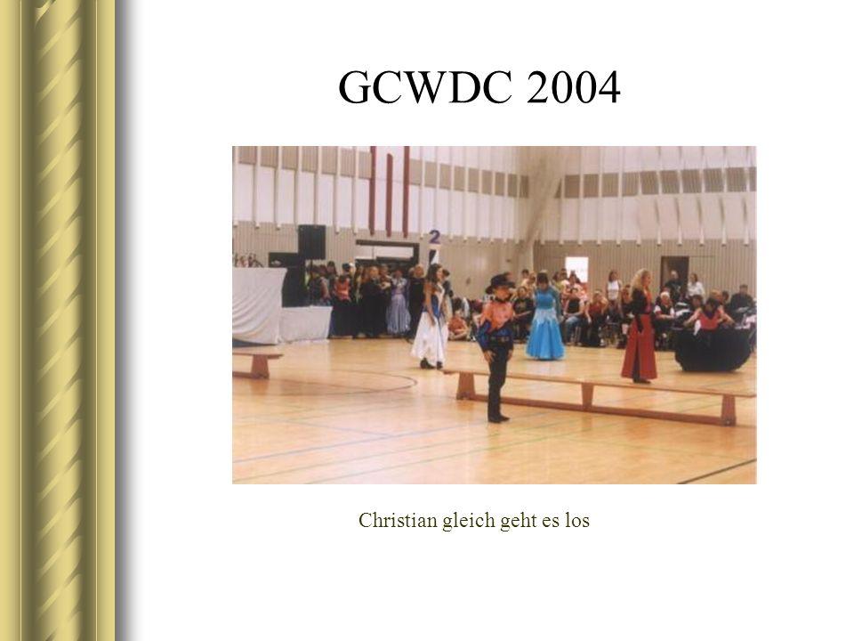 GCWDC 2004 Christian gleich geht es los