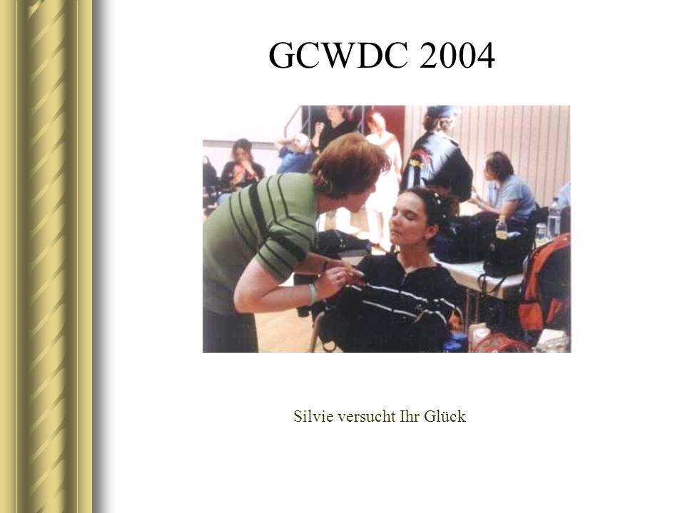 GCWDC 2004 Silvie versucht Ihr Glück