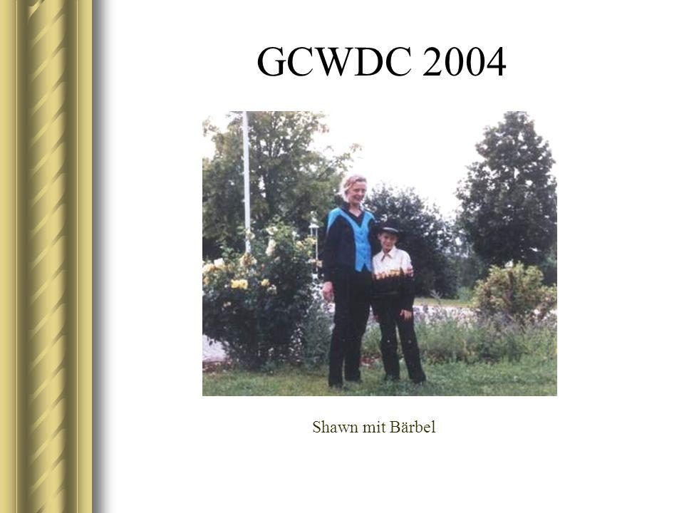GCWDC 2004 Shawn mit Bärbel