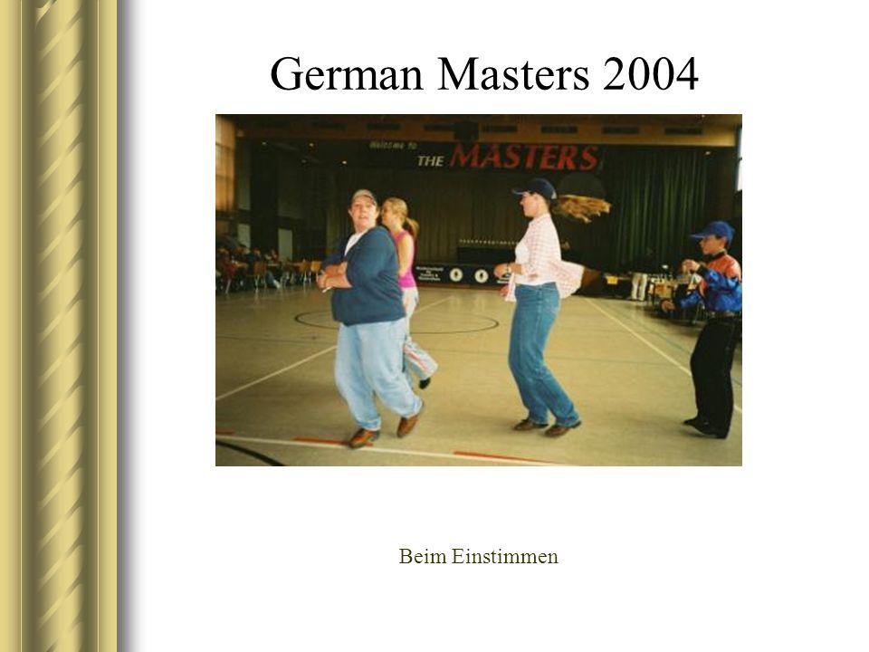 German Masters 2004 Beim Einstimmen
