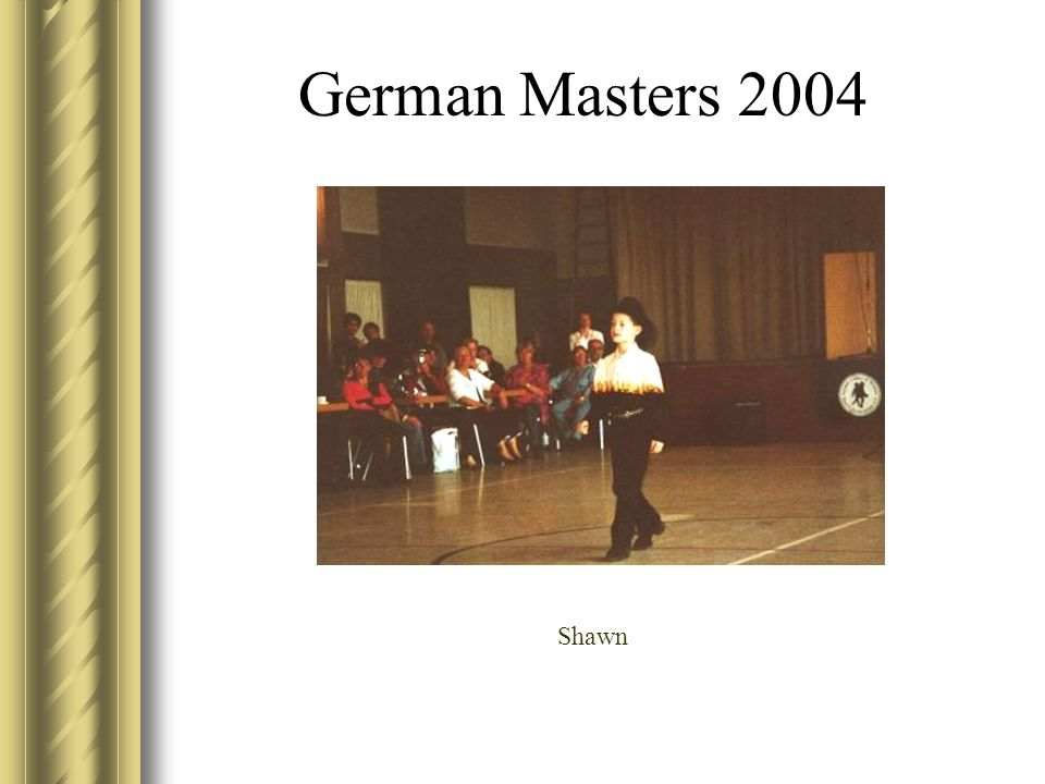 German Masters 2004 Shawn