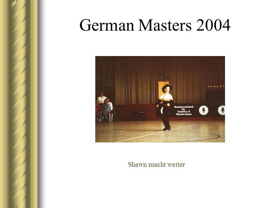 German Masters 2004 Shawn macht weiter