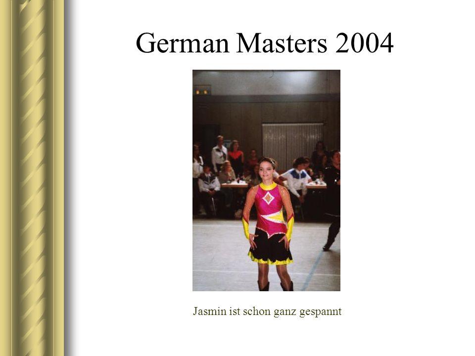 German Masters 2004 Jasmin ist schon ganz gespannt