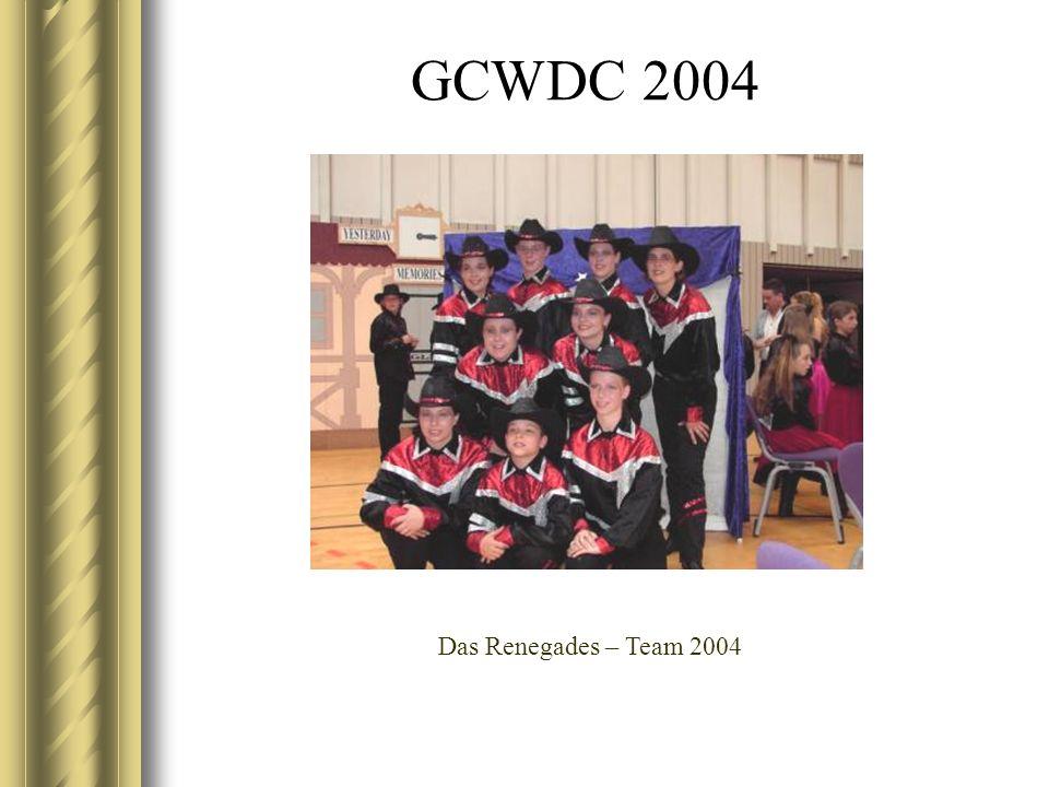 GCWDC 2004 Das Renegades – Team 2004