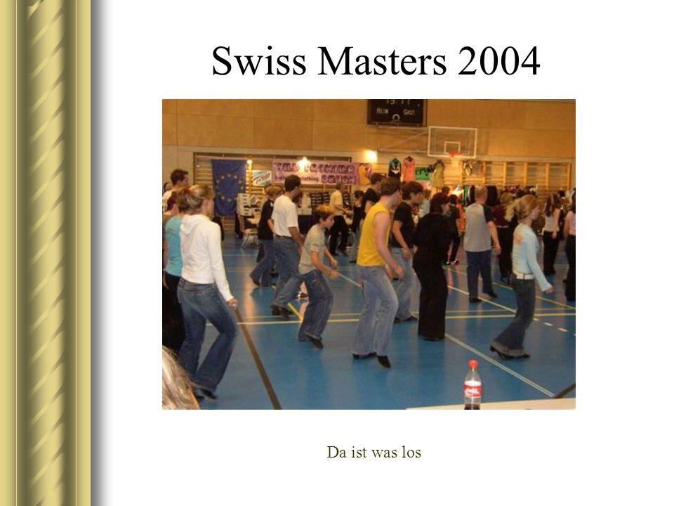 Swiss Masters 2004 Da ist was los
