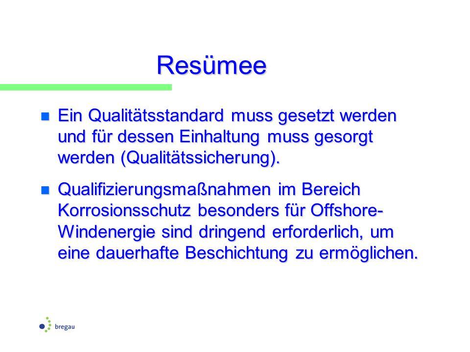 Resümee n Ein Qualitätsstandard muss gesetzt werden und für dessen Einhaltung muss gesorgt werden (Qualitätssicherung). n Qualifizierungsmaßnahmen im