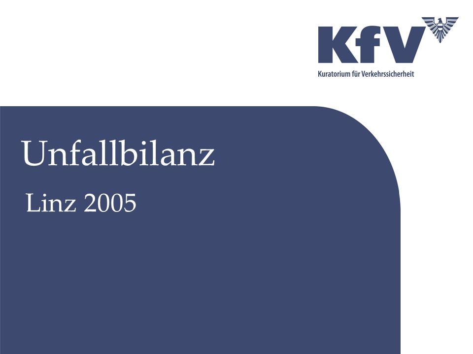 Österreich Unfälle, Verletzte, Getötete 2003-2005
