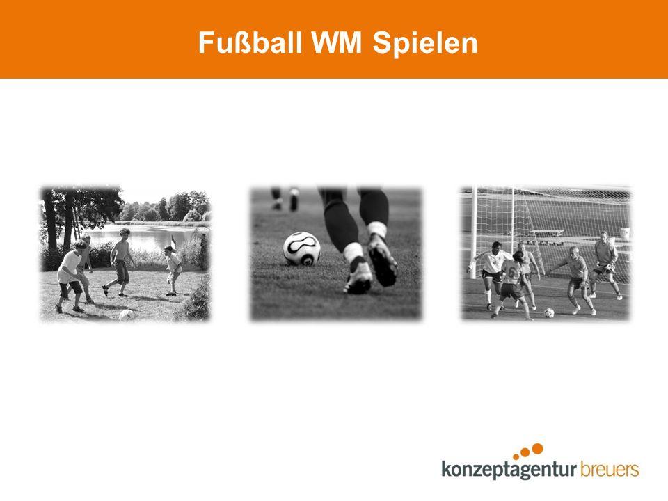 Fußball WM Spielen