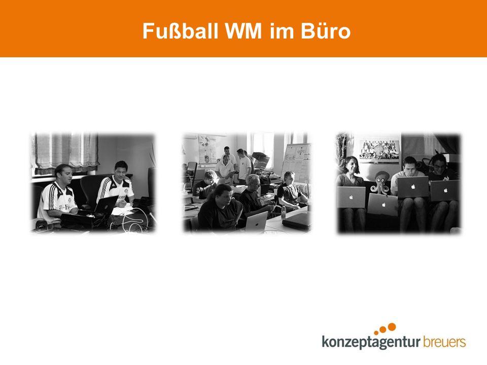 Fußball WM im Büro