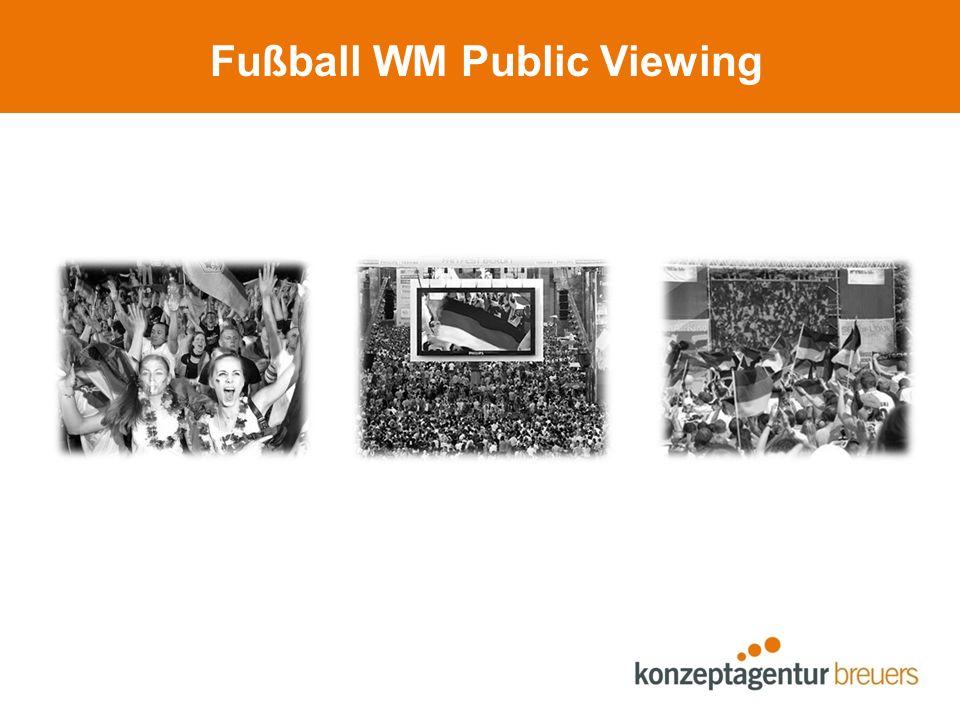 Im Stadion Kombinationsbeispiel: Regenschirm, Body-Bag, Tröte, Thermo-Sitzkissen
