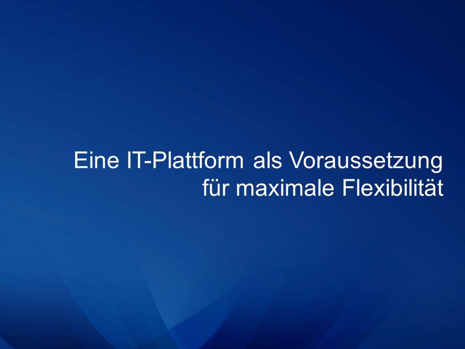 Eine IT-Plattform als Voraussetzung für maximale Flexibilität