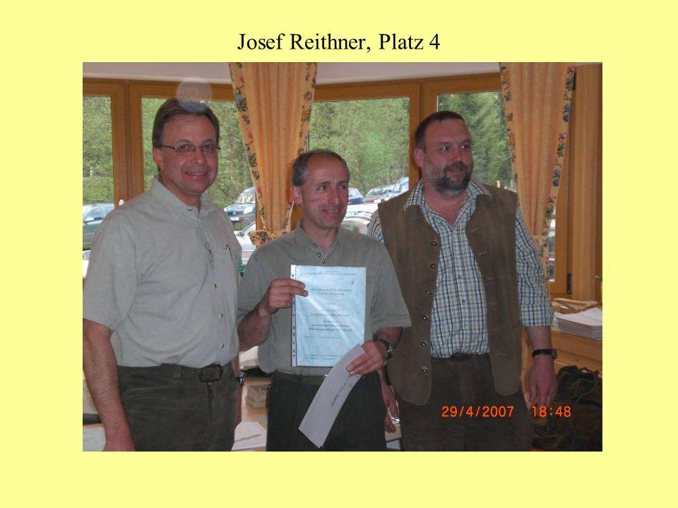 Josef Reithner, Platz 4