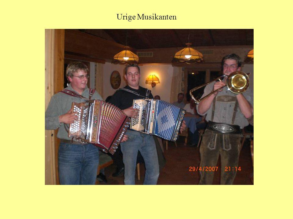Urige Musikanten