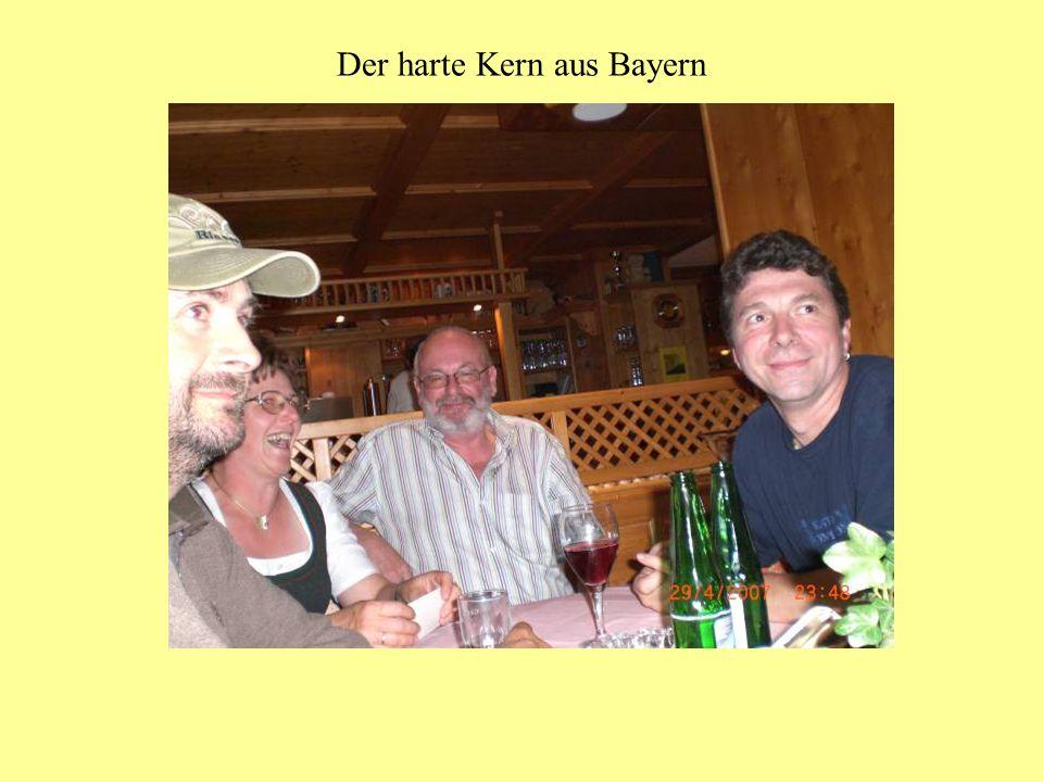 Der harte Kern aus Bayern