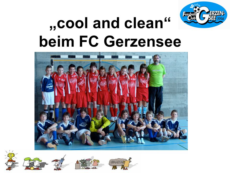 cool and clean beim FC Gerzensee