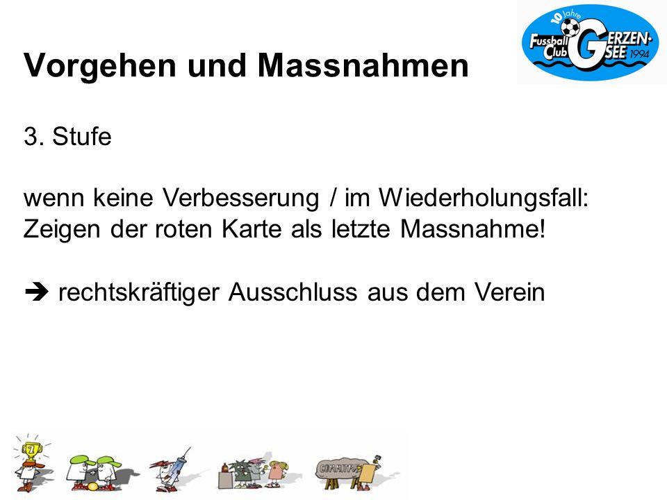 Vorgehen und Massnahmen 3.