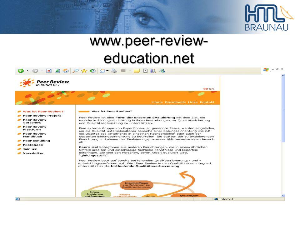 www.peer-review- education.net