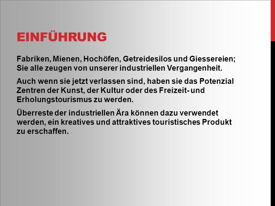 Ruhrgebiet Deutschland Sind Wegbereiter für Wiederentdeckung alter Industriegebäude zu kulturellen Zecken.