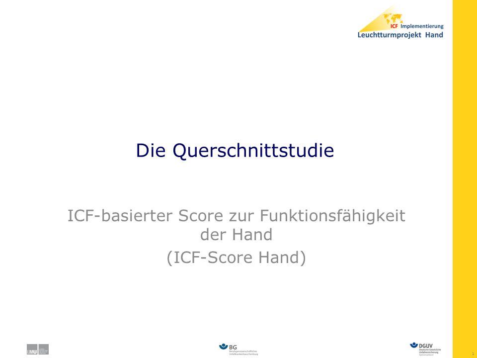 12 ICF-Score Hand - Dermatologie