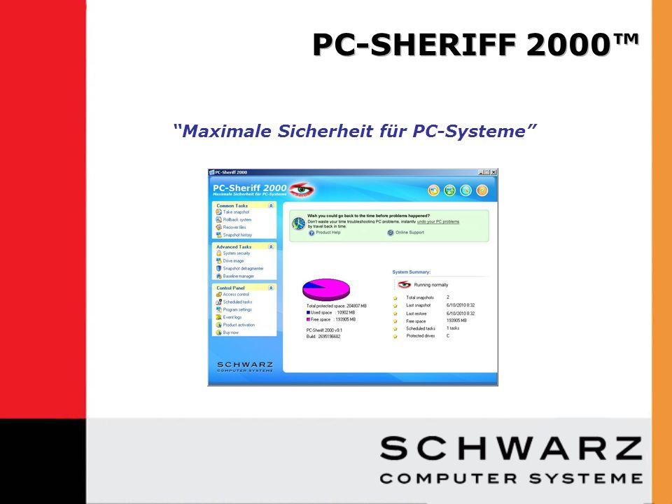 Was ist der PC-Sheriff 2000.Wie funktioniert der PC-Sheriff 2000.