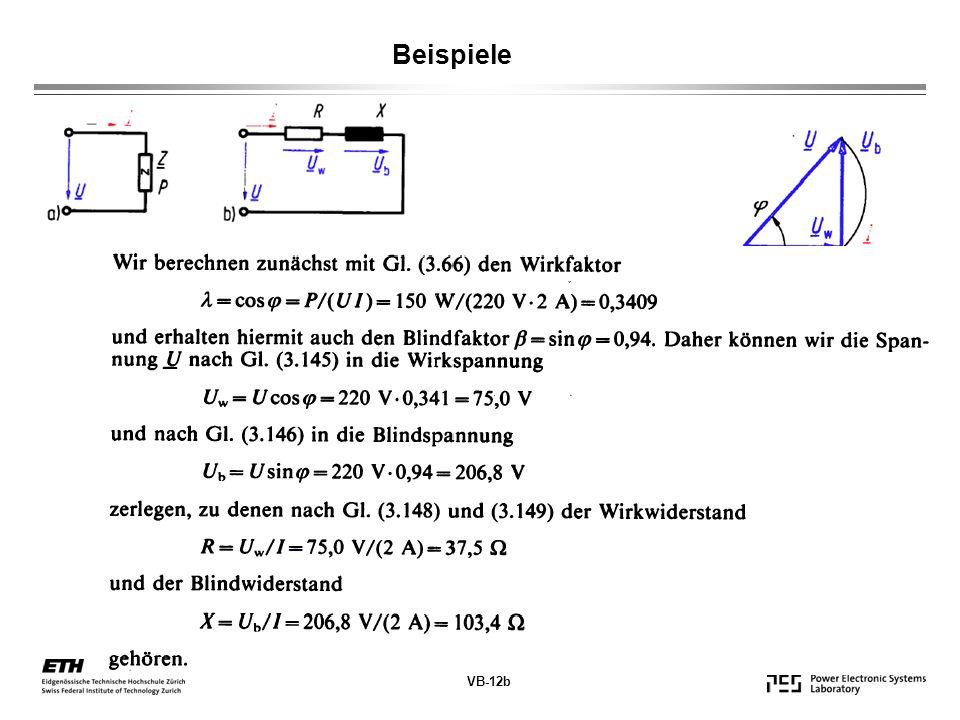 VB-12b Beispiele