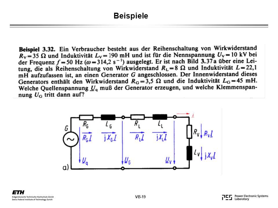 VB-19 Beispiele