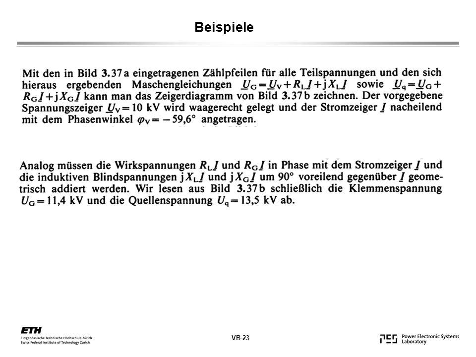 VB-23 Beispiele