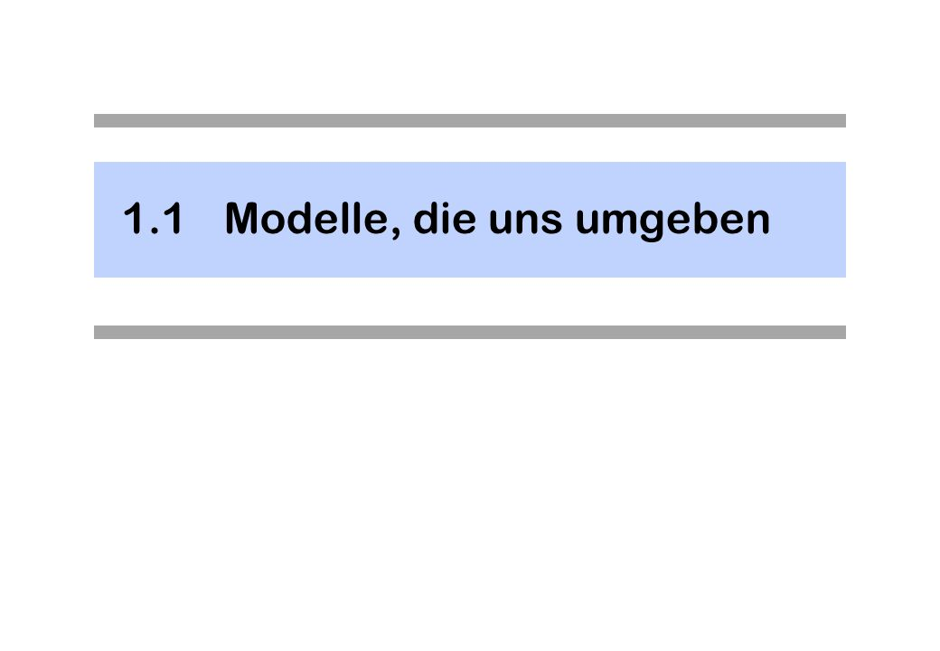 Beispiel – UML Klassendiagramm Die Knoten besitzen eine ausgeprägte Substruktur (d.