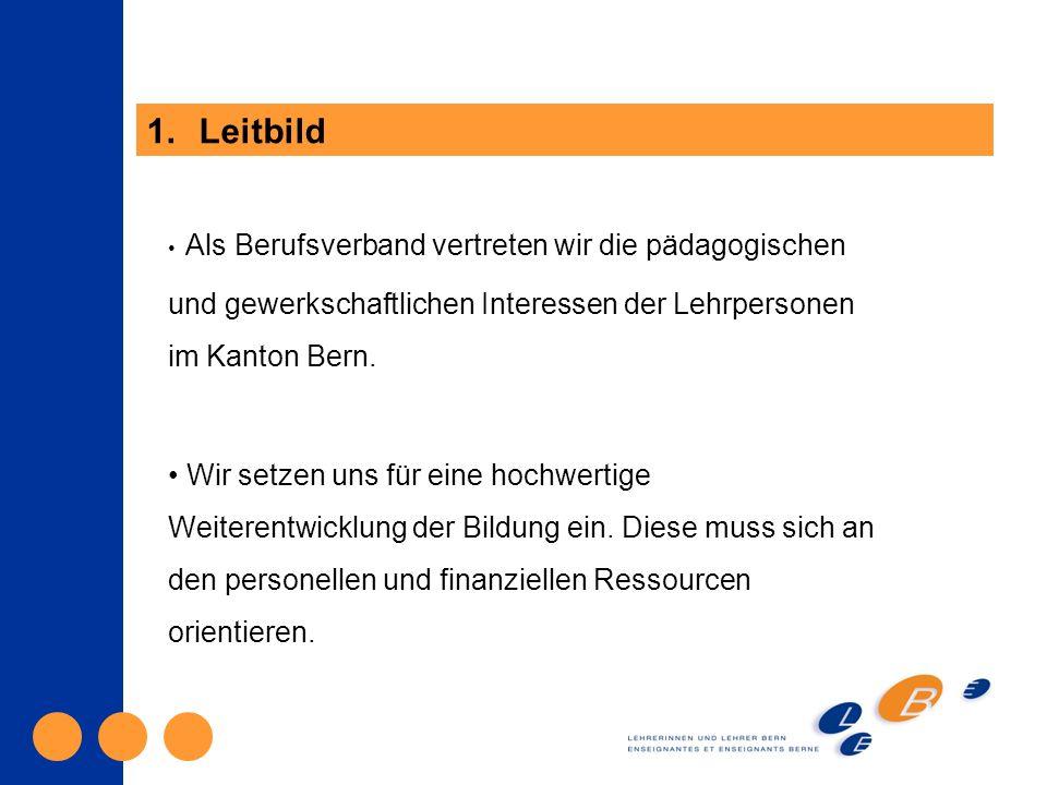 Als Berufsverband vertreten wir die pädagogischen und gewerkschaftlichen Interessen der Lehrpersonen im Kanton Bern.