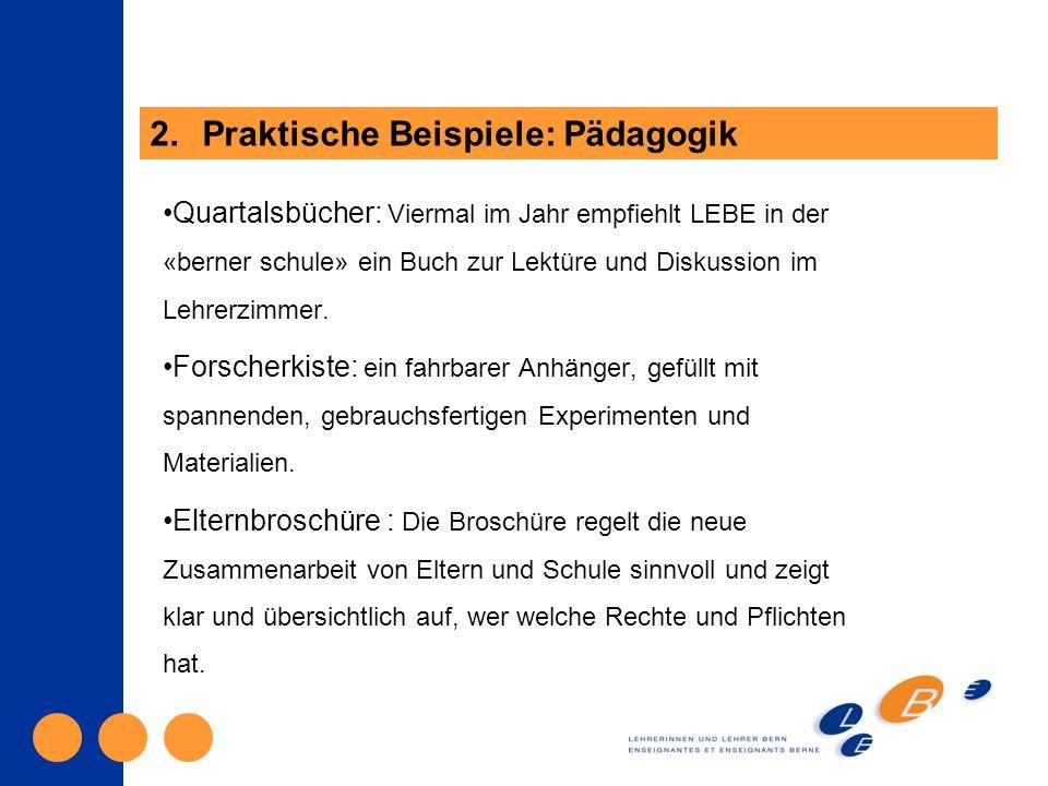 Quartalsbücher: Viermal im Jahr empfiehlt LEBE in der «berner schule» ein Buch zur Lektüre und Diskussion im Lehrerzimmer.