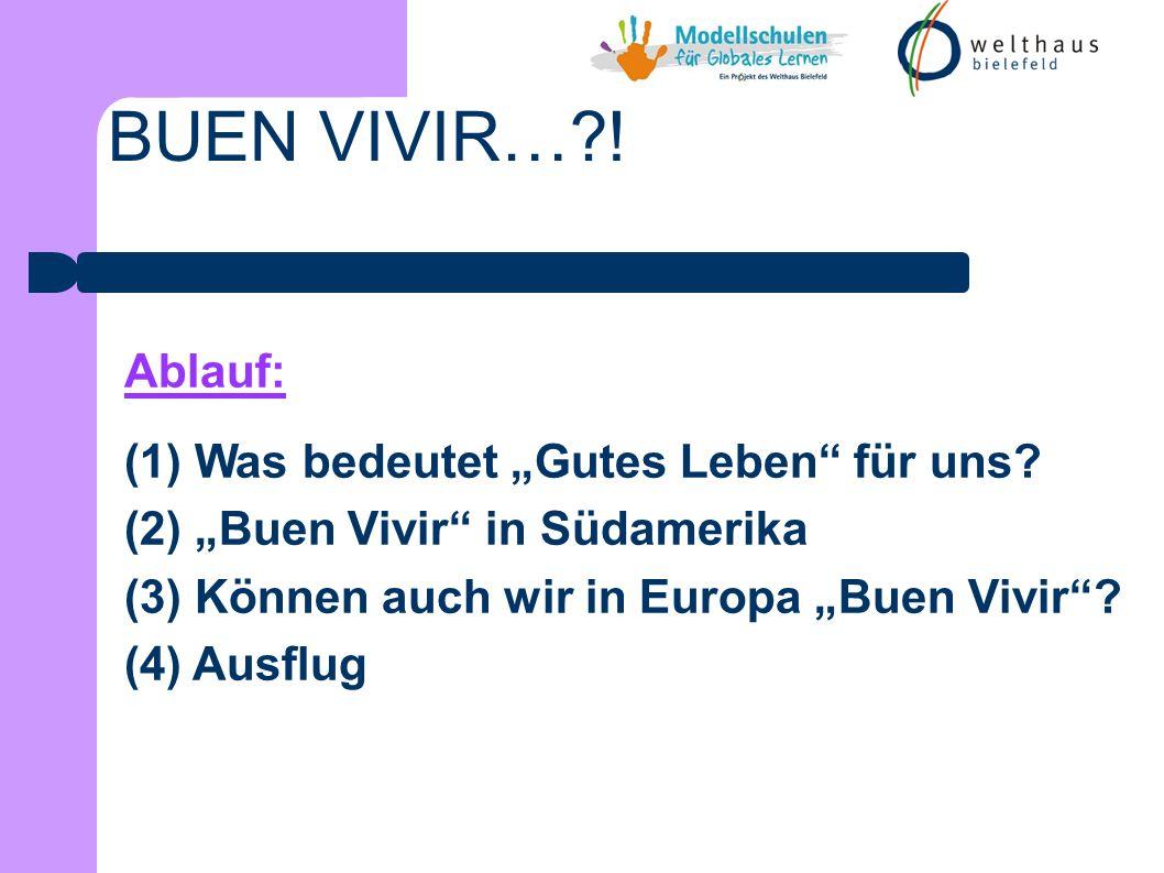 BUEN VIVIR…?! (3) Können wir in Europa Buen Vivir? Die Tragödie des Gemeinguts Rollenspiel