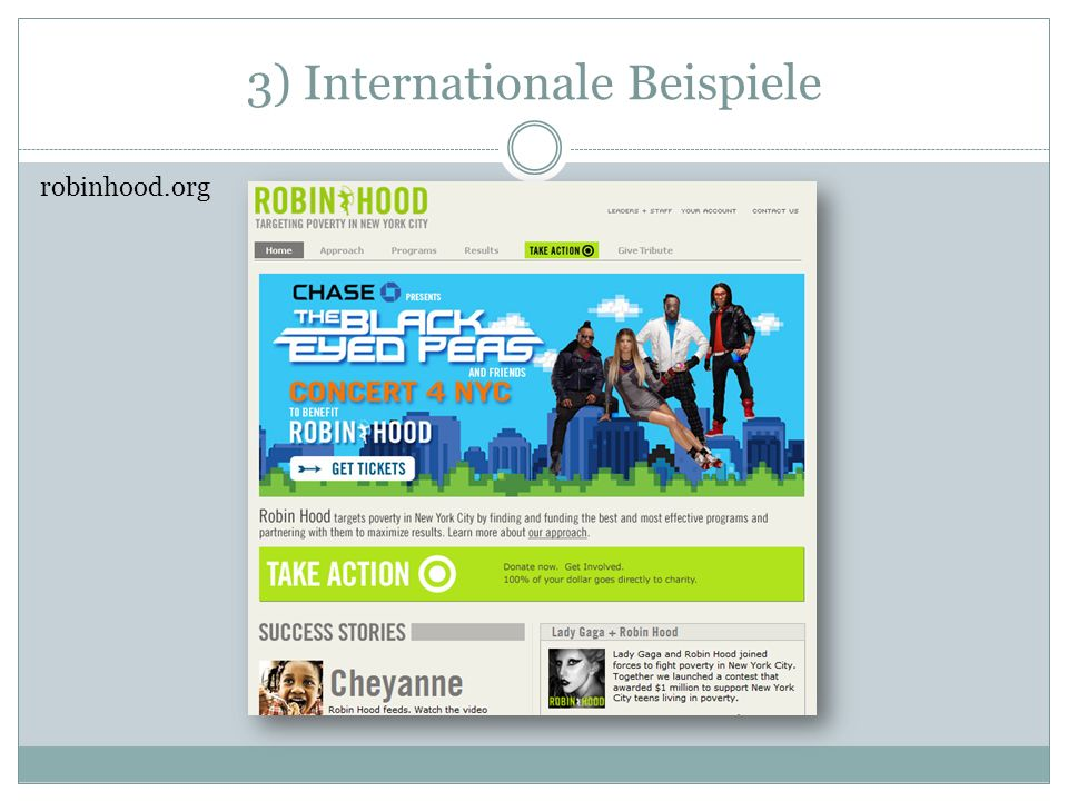 3) Internationale Beispiele robinhood.org