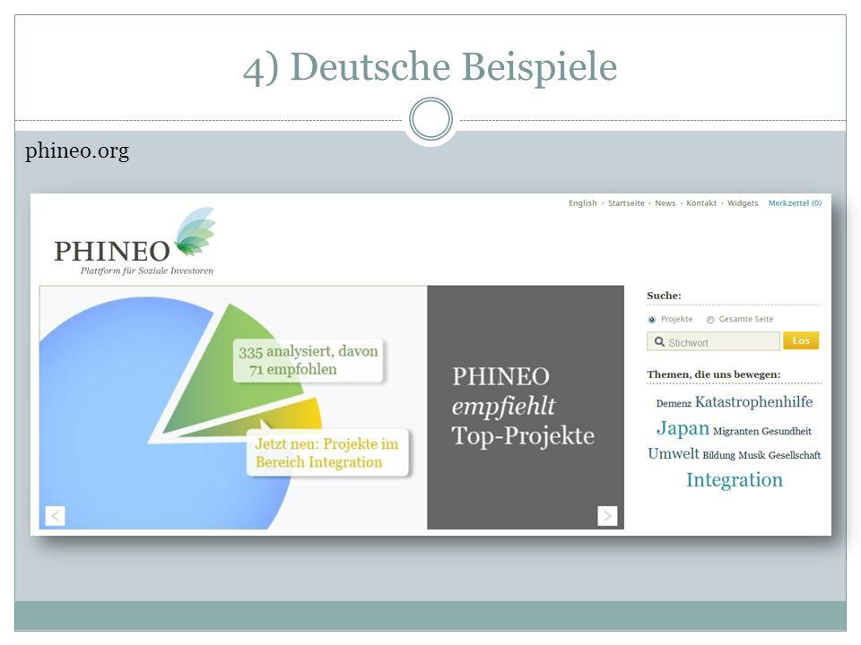 4) Deutsche Beispiele bonventure.de