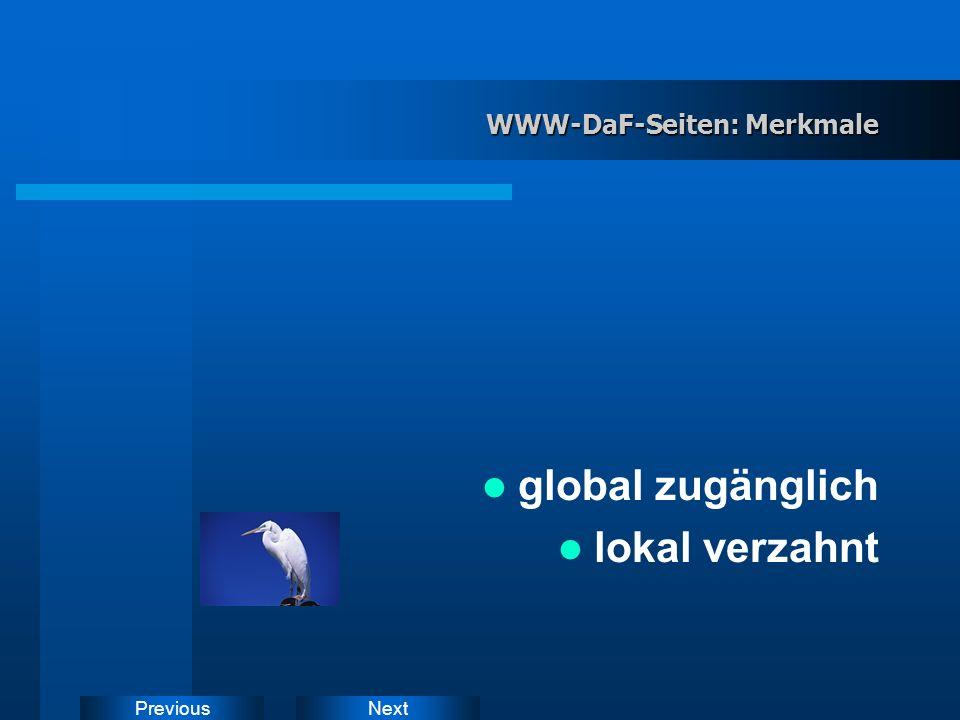 NextPrevious Kommerzielle Software - WWW-Angebote Kommerzielle Software- Entwicklung Nicht- kommerzielle WWW- Entwicklung