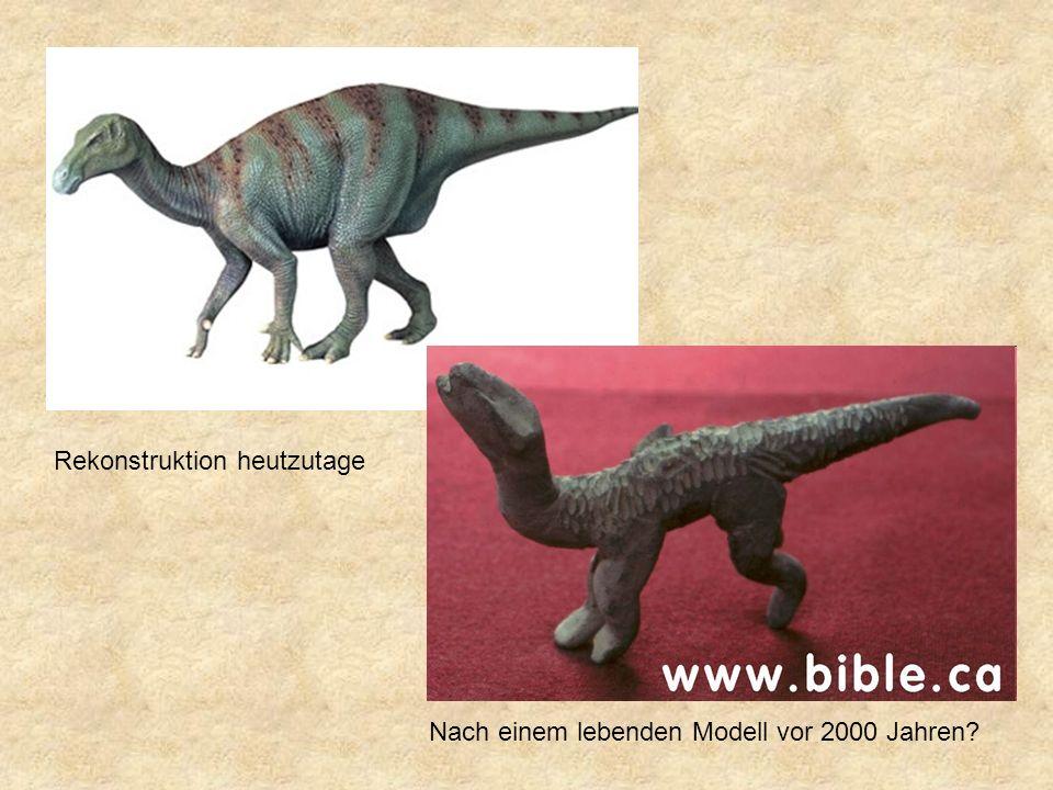 Rekonstruktion heutzutage Nach einem lebenden Modell vor 2000 Jahren?