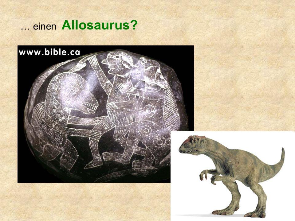 … einen Allosaurus?