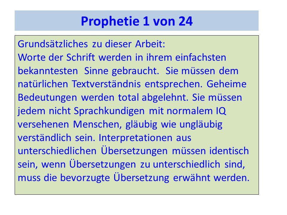 Die prophetische Bedeutung des Landbundes Sach 8,4 So spricht Jehova der Heerscharen: Es werden noch Greise und Greisinnen in den Straßen von Jerusalem sitzen, ein jeder mit seinem Stabe in seiner Hand vor Menge der Tage.